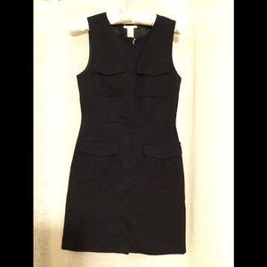 H&M New Navy Blue Business Dress